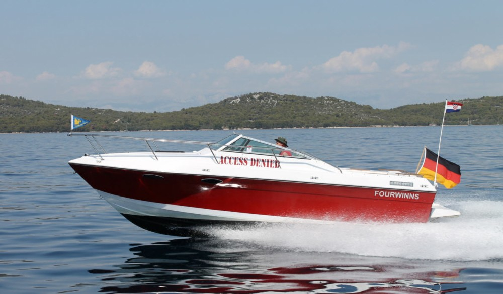 Hire Motor boat with or without skipper Four Winns Castelló d'Empúries