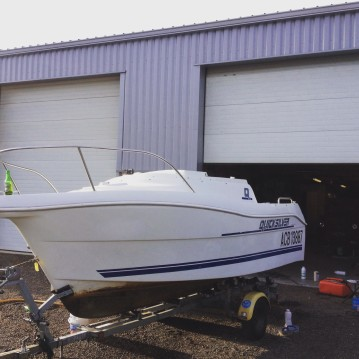 Location bateau Capbreton pas cher Quicksilver 460 Cabine