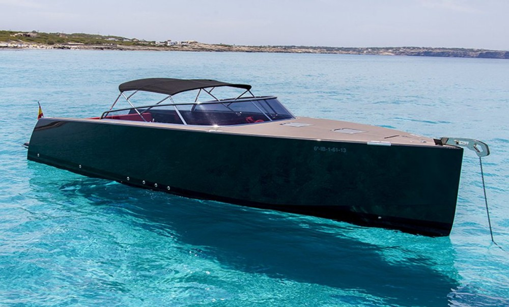 Hire Motor boat with or without skipper VanDutch Vallauris