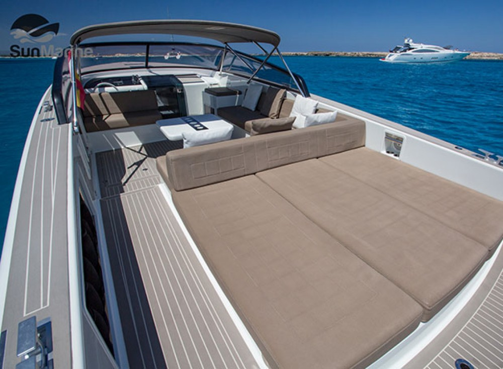 Boat rental Vallauris cheap VanDutch 40