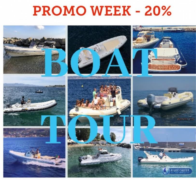 Boat rental Joker Boat Clubman 26 in Regio de Calabria on Samboat