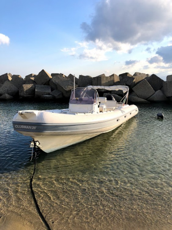 Boat rental Regio de Calabria cheap Clubman 26
