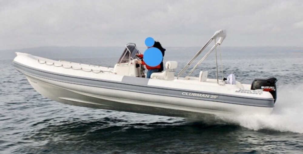 Hire RIB with or without skipper Joker Boat Regio de Calabria