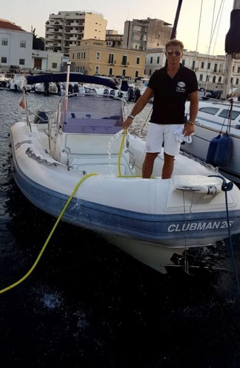 Rental RIB in Regio de Calabria - Joker Boat Clubman 26