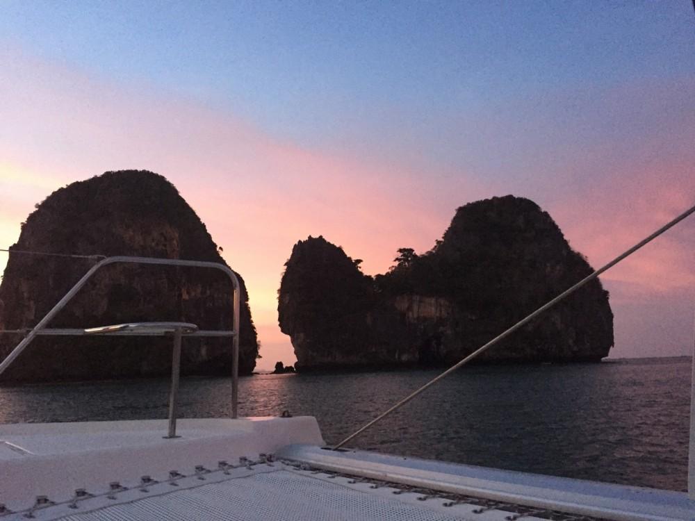 Rental Catamaran in Phuket - Leopard 3900