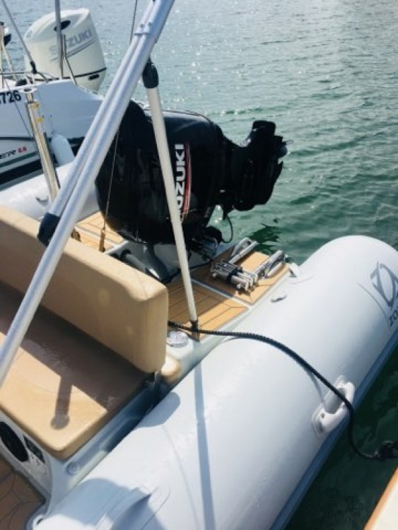 Location bateau Zodiac Medline 580 à Arcachon sur Samboat