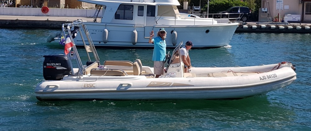 Hire RIB with or without skipper Colzani Grimaud