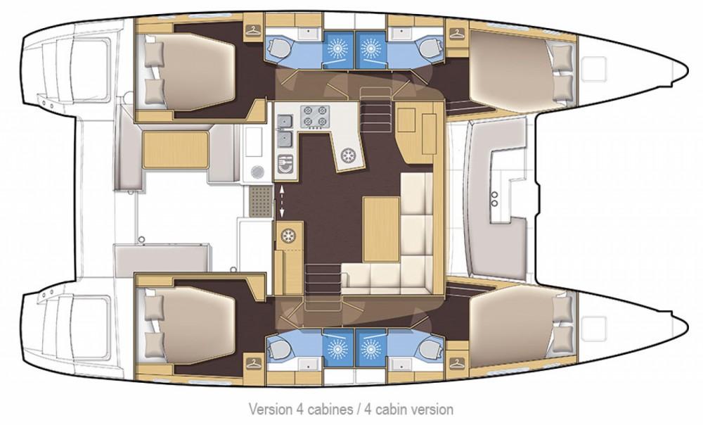 Yacht-Charter in Capo d'Orlando - Lagoon Lagoon 450 F auf SamBoat
