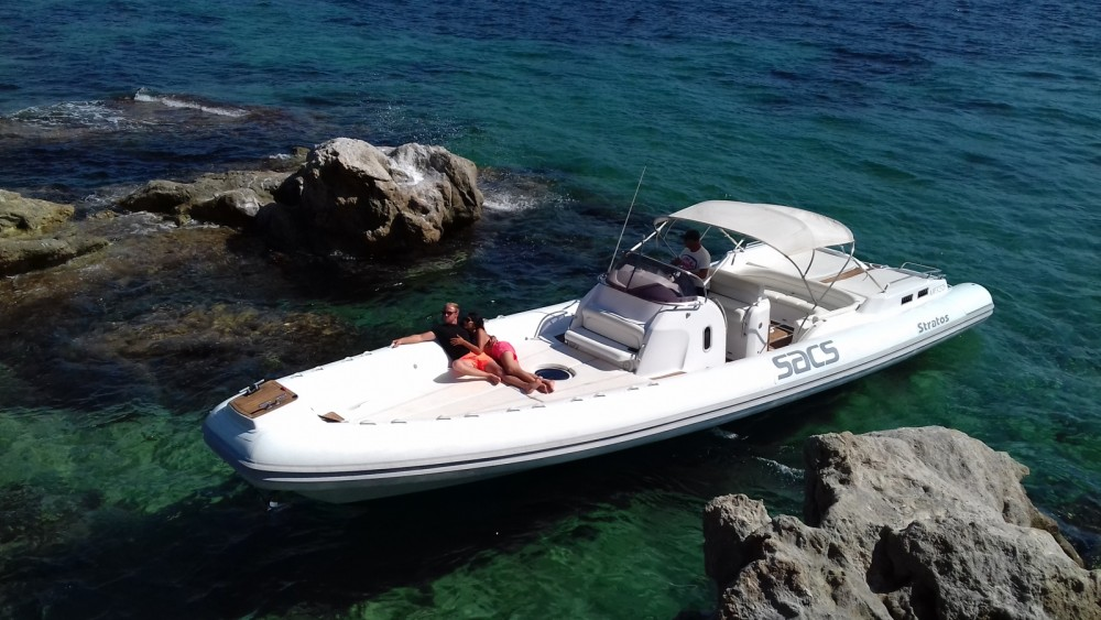 Hire RIB with or without skipper Sacs Propriano