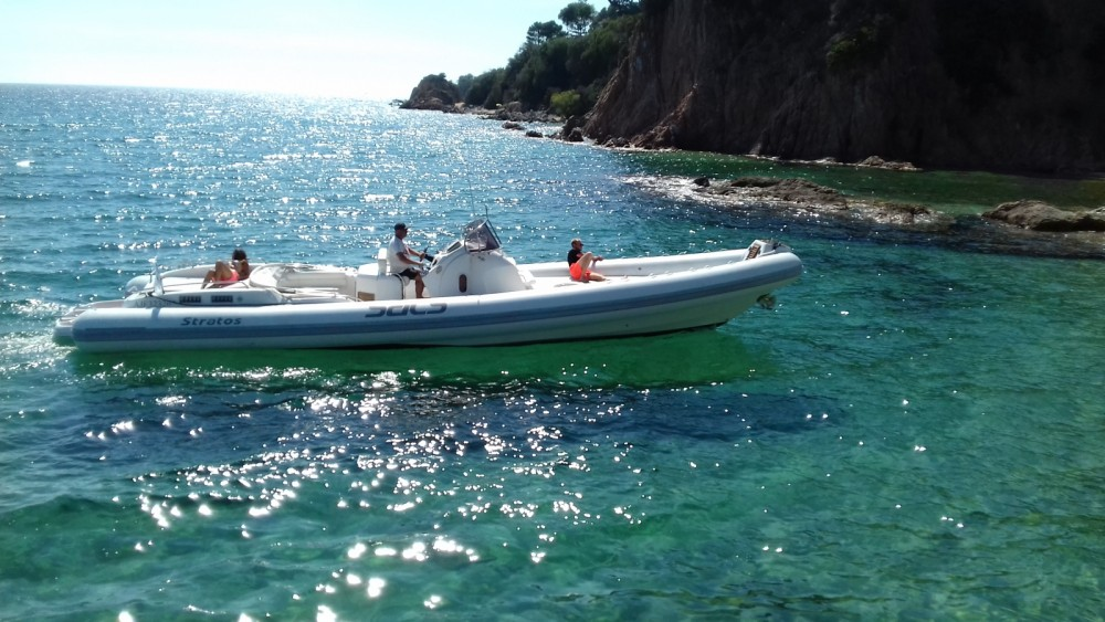 Boat rental Propriano cheap Sacs stratos 42
