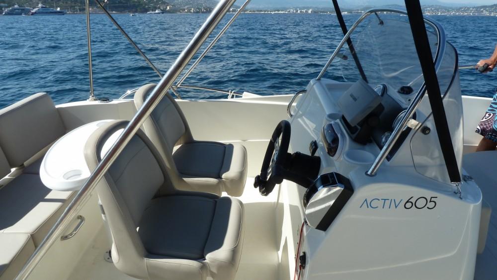Boat rental Mandelieu-la-Napoule cheap Activ 605 Open