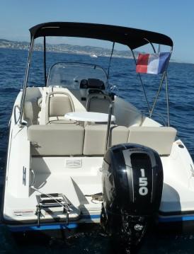 Location bateau Quicksilver Activ 605 Open à Mandelieu-la-Napoule sur Samboat