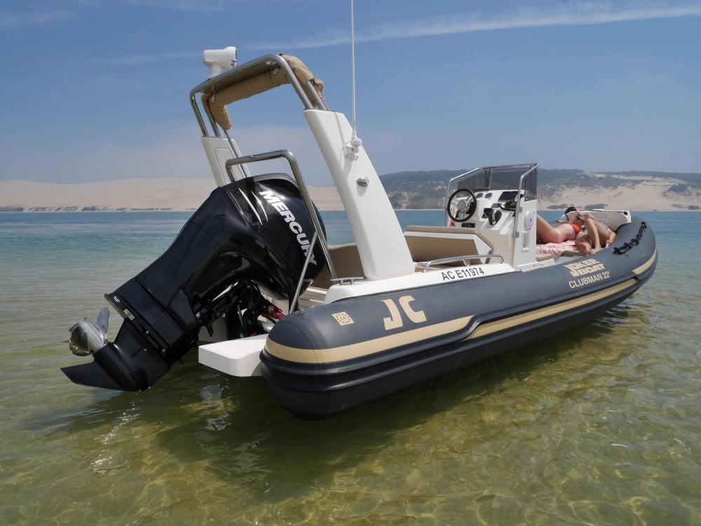 Boat rental Joker Boat Clubman 22 in Lège-Cap-Ferret on Samboat