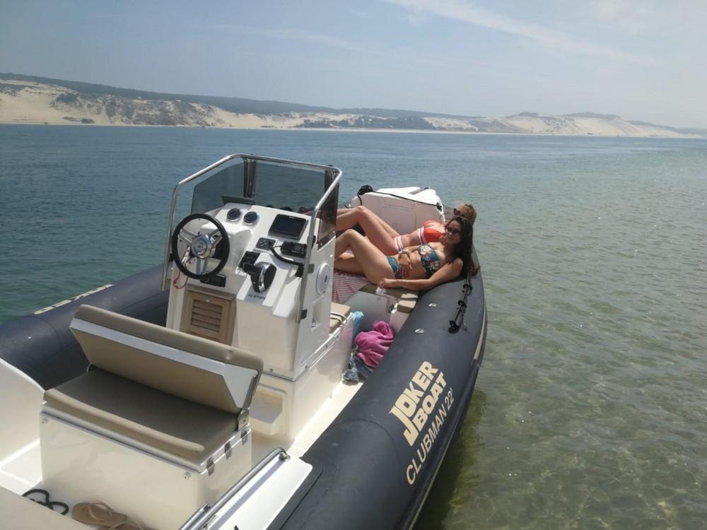 Rental RIB in Lège-Cap-Ferret - Joker Boat Clubman 22