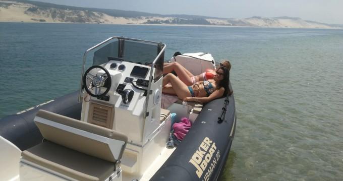 Location Semi-rigide à Port d'Arcachon - Joker Boat Clubman 22