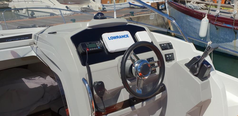 Rent a Jeanneau Cap Camarat 7.5 WA Serie 2 Cogolin