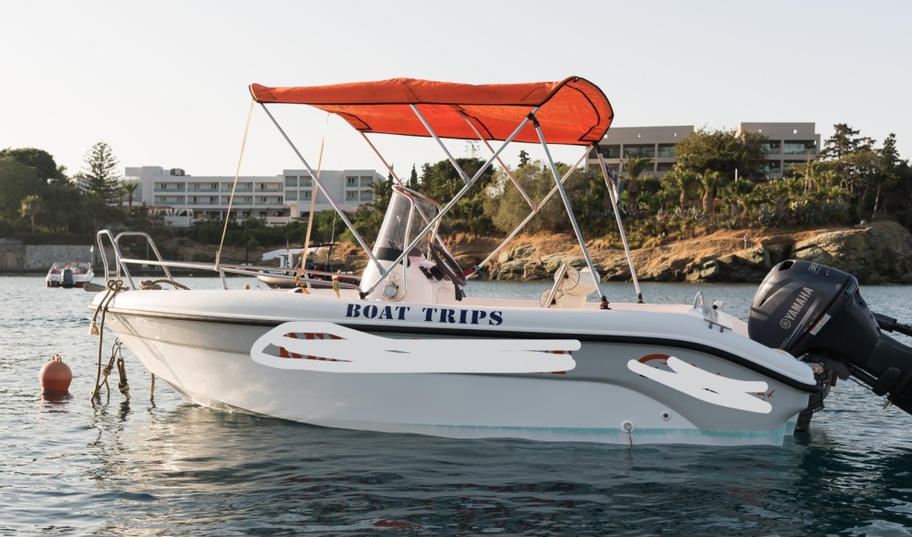 Huur Motorboot met of zonder schipper Poseidon in Ηράκλειο