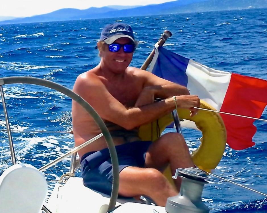 Jeanneau Sun Odyssey 349 between personal and professional Saint-Jean-Cap-Ferrat