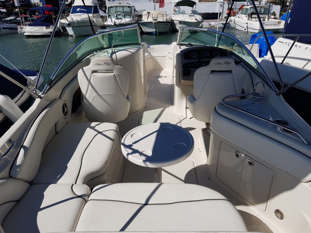 Hire Motor boat with or without skipper Sea Ray Marbella