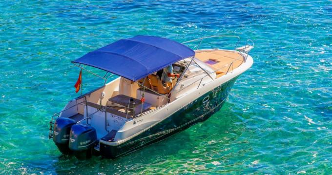 Location Bateau à moteur à Ibiza - Jeanneau Cap Camarat 8.5 WA