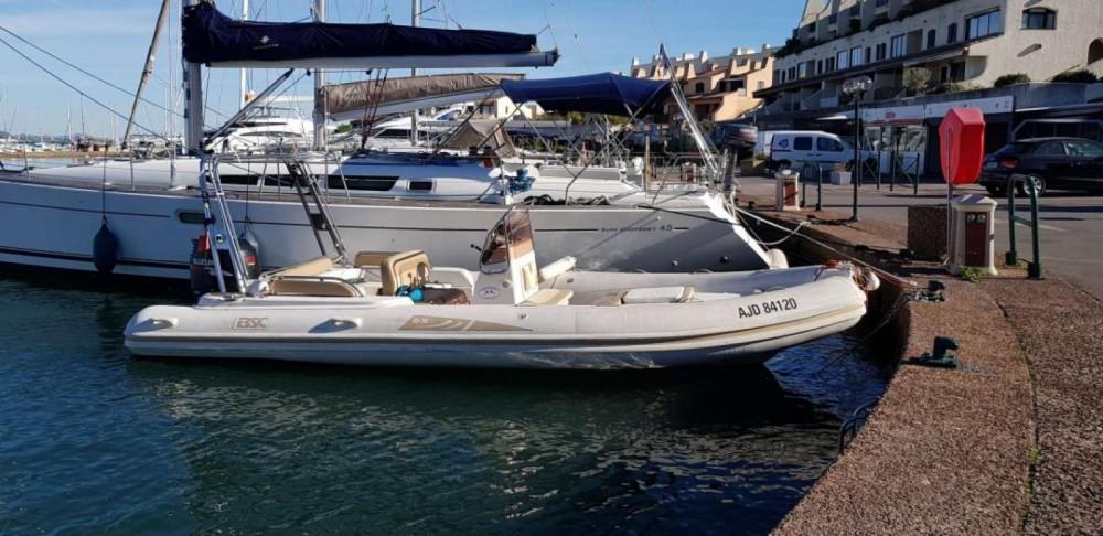 Rental RIB in Grimaud - Colzani Bsc65