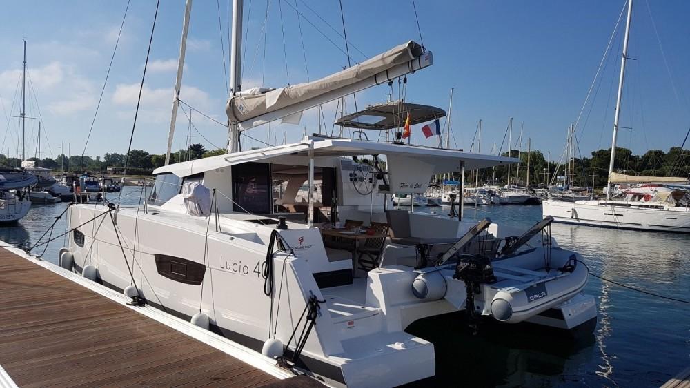 Location Catamaran à Canet-en-Roussillon - Fountaine Pajot Lucia 40 Maestro