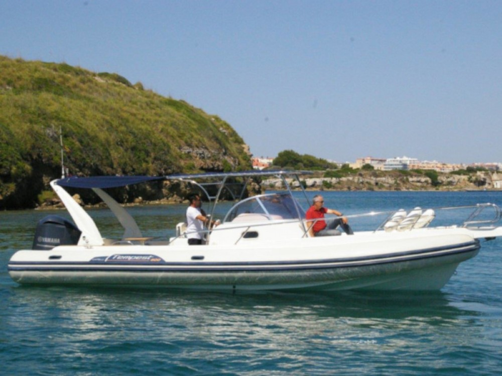 Cantiere Tempest 900 WA between personal and professional Palma