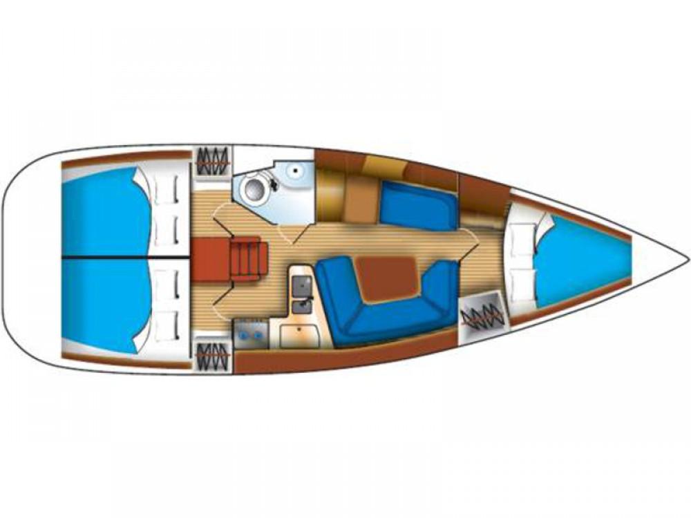 Boat rental Jeanneau Sun Odyssey 35 in Marina de Alimos on Samboat
