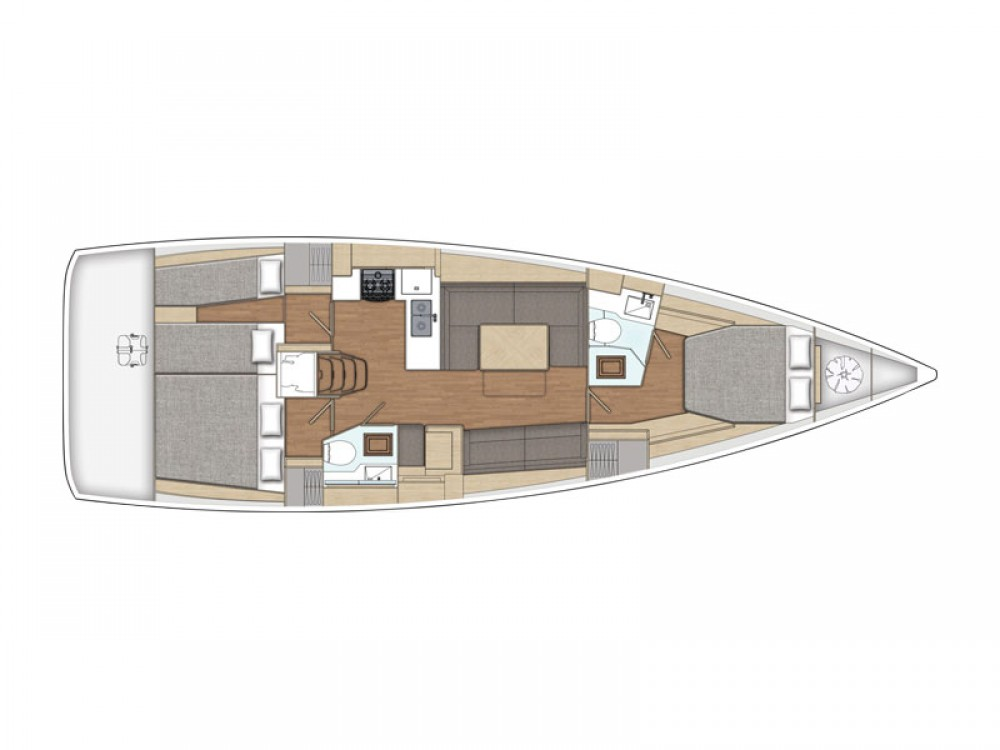 X-Yachts X4-6 model 2019 between personal and professional Lávrio