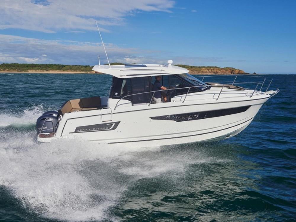 Rental Motor boat in ACI Marina Split - Jeanneau Jeanneau Merry Fisher 895
