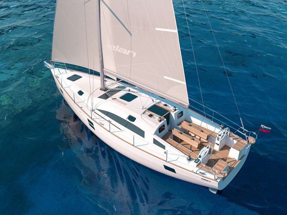 Boat rental Elan Elan Impression 45.1 - GEN + AC in Marina Zadar on Samboat
