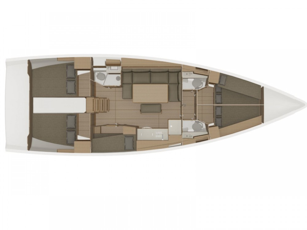Rental yacht Zadar - Dufour Dufour 460 on SamBoat