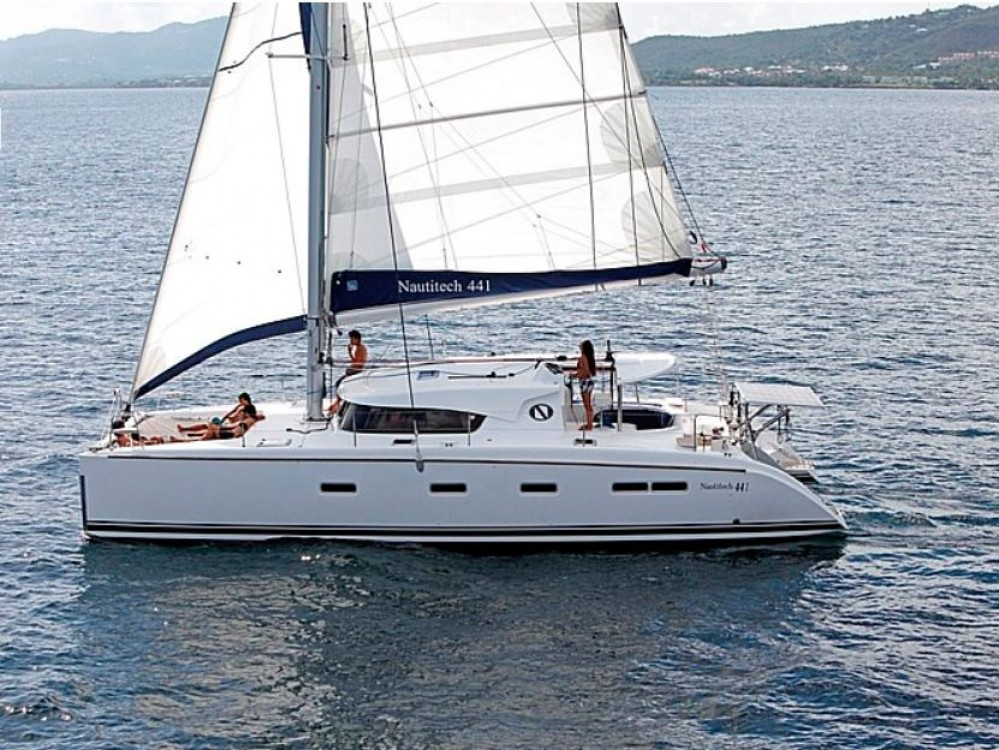 Boat rental Alimos Marina cheap Nautitech 441