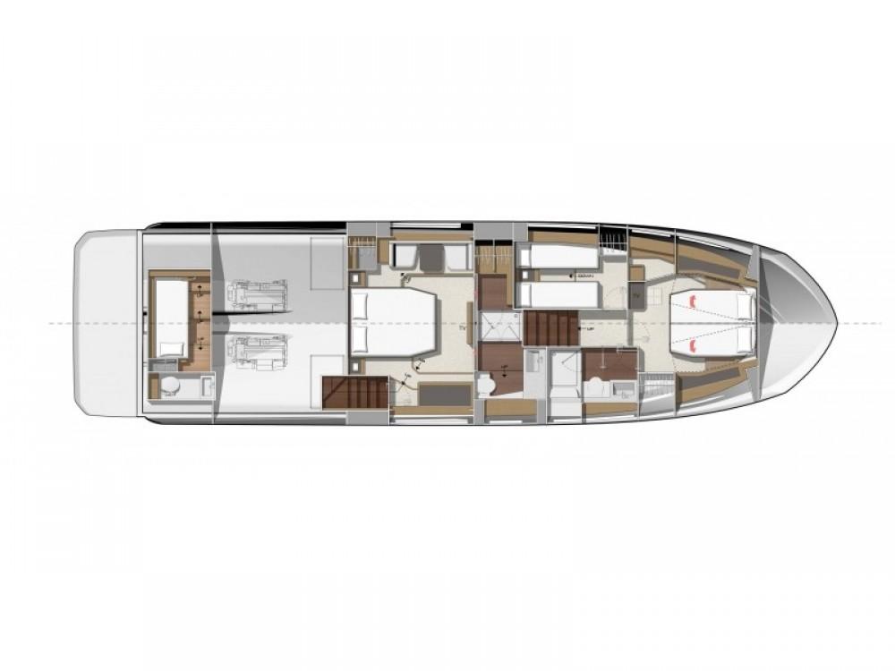 Rental Motor boat in ACI Marina Dubrovnik - Jeanneau Prestige 590 Fly