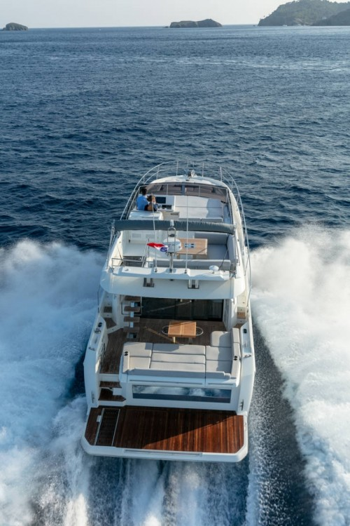Jeanneau Prestige 590 Fly between personal and professional ACI Marina Dubrovnik