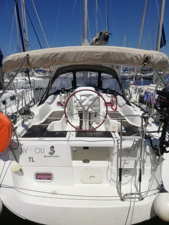 Bénéteau Oceanis 34 entre particuliers et professionnel à Six-Fours-les-Plages