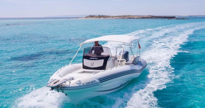 Location bateau Zodiac NZ-O 760 à Ibiza (Ville) sur Samboat