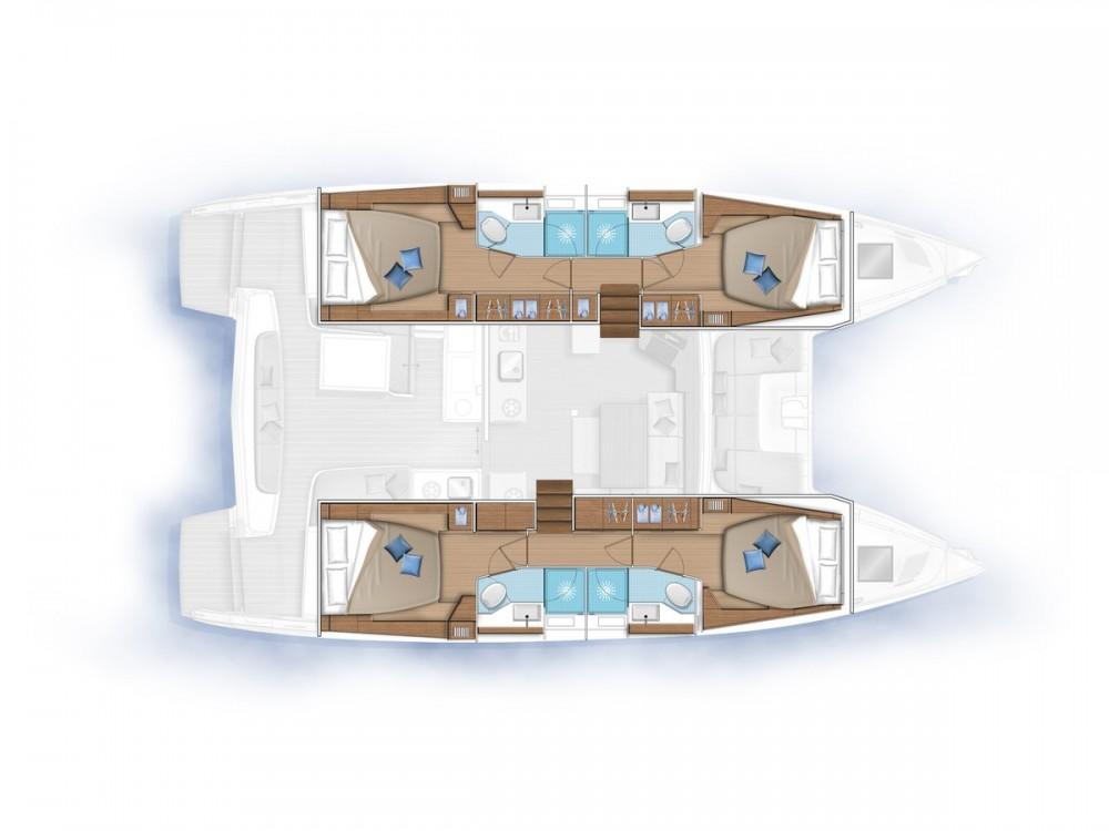 Rental yacht Le Marin - Lagoon Lagoon 46 on SamBoat