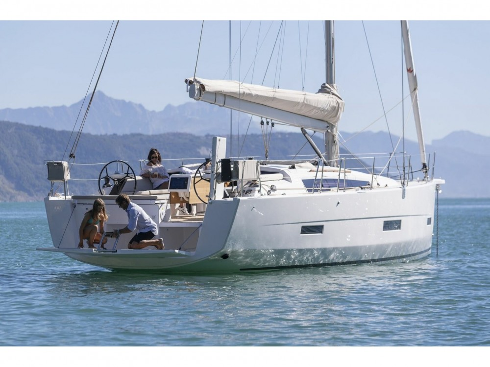 Dufour Dufour 430 Grand Large between personal and professional Marina Medulin
