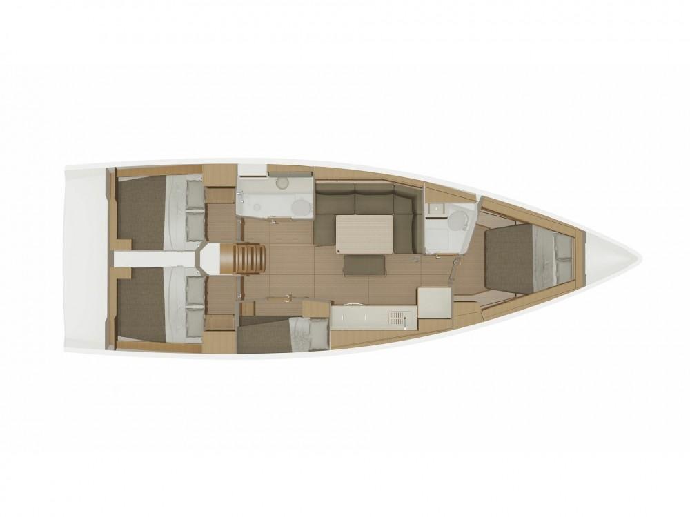 Rental Sailboat in ACI Marina Dubrovnik - Dufour Dufour 430 Grand Large
