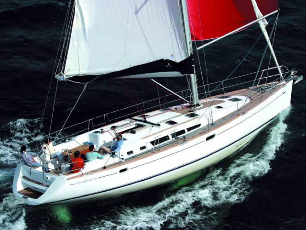 Rental Sailboat in Skiathos - Jeanneau Sun Odyssey 49