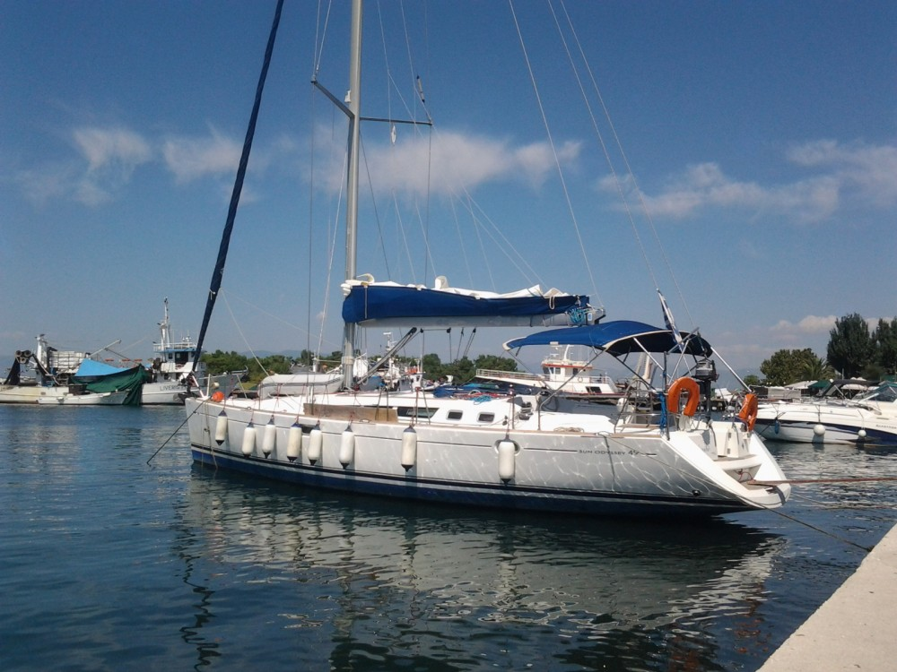 Jeanneau Sun Odyssey 49 between personal and professional Skiathos