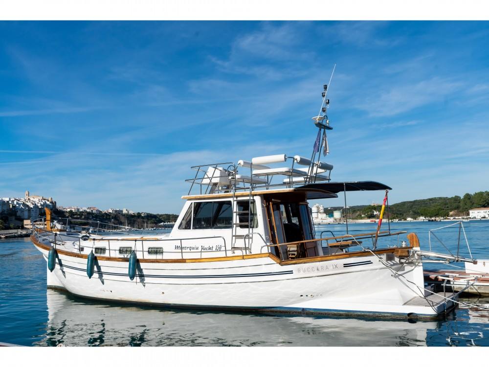 Astilleros Menorquin 150 between personal and professional Port de Pollença