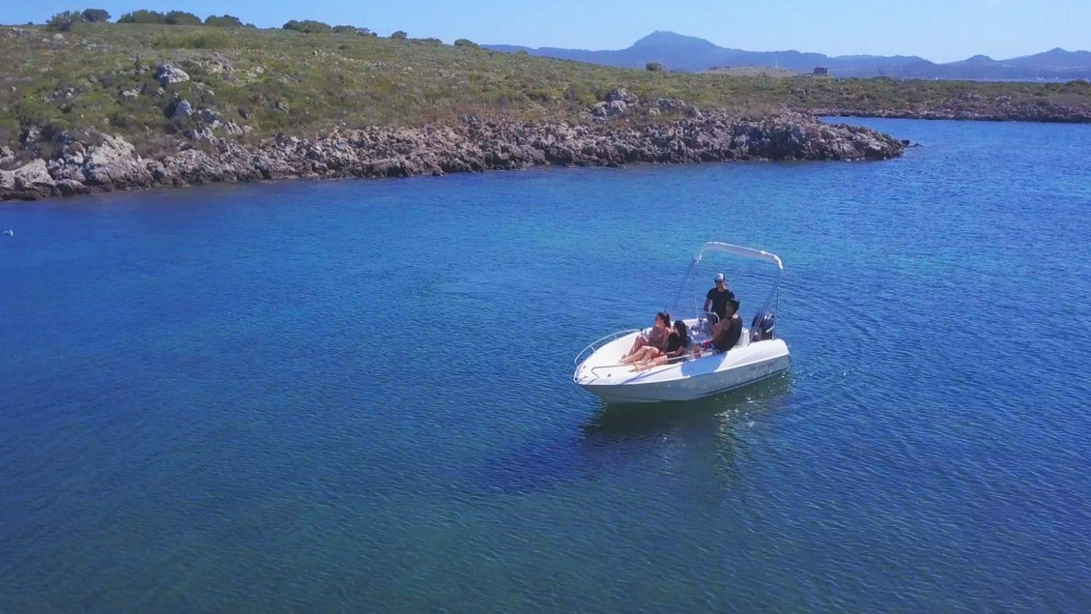 Hire Motor boat with or without skipper Quicksilver Es Mercadal