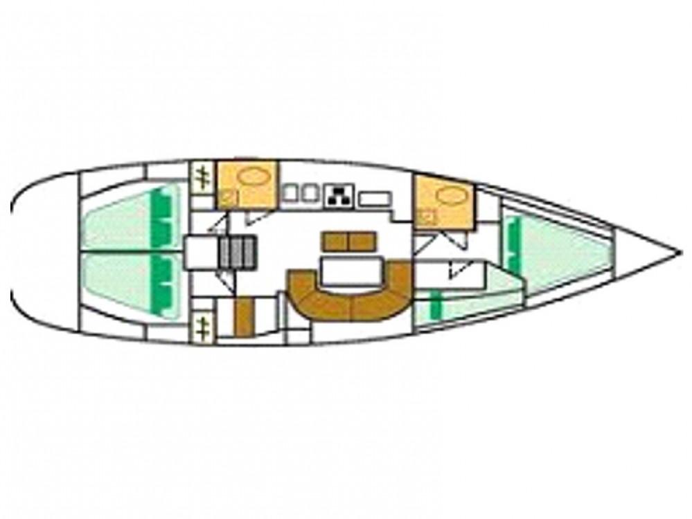 Boat rental Alimos Marina cheap Oceanis 411