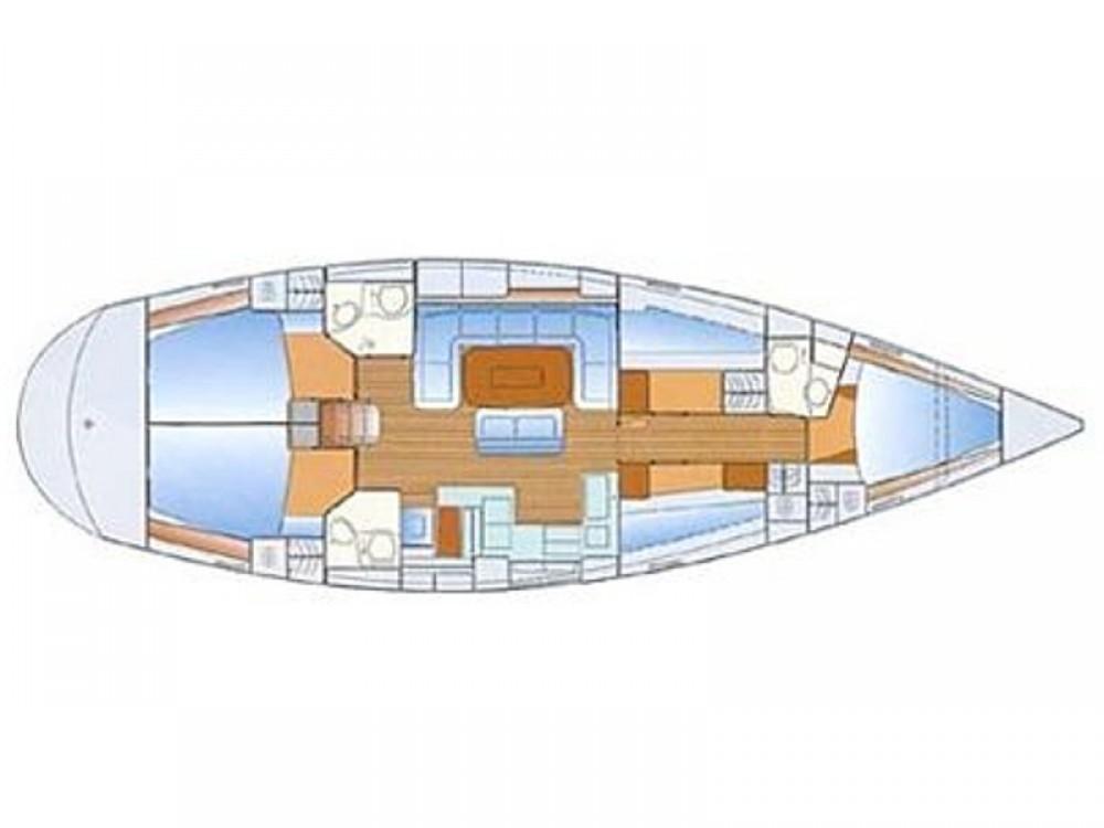 Boat rental Bavaria Bavaria 50 Cruiser in Marina Pirovac on Samboat