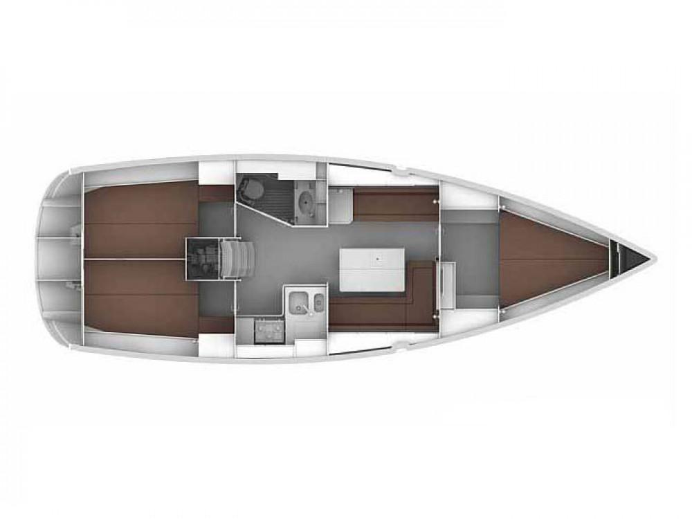 Boat rental Skiathos cheap Bavaria Cruiser 36