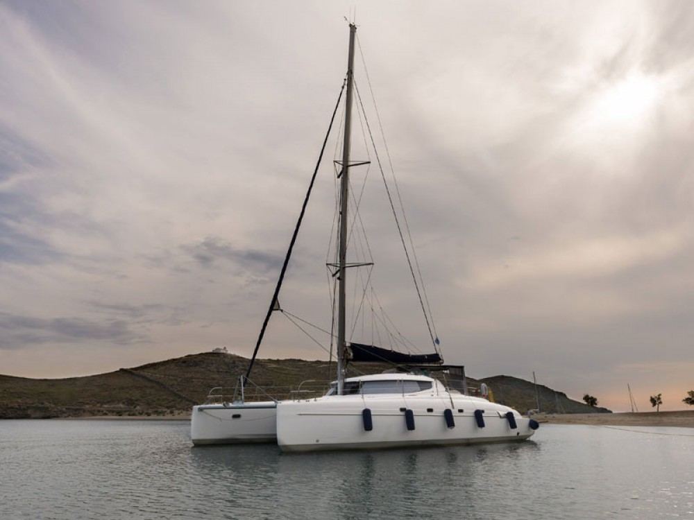 Fountaine Pajot Bahia 46 between personal and professional Lefkas