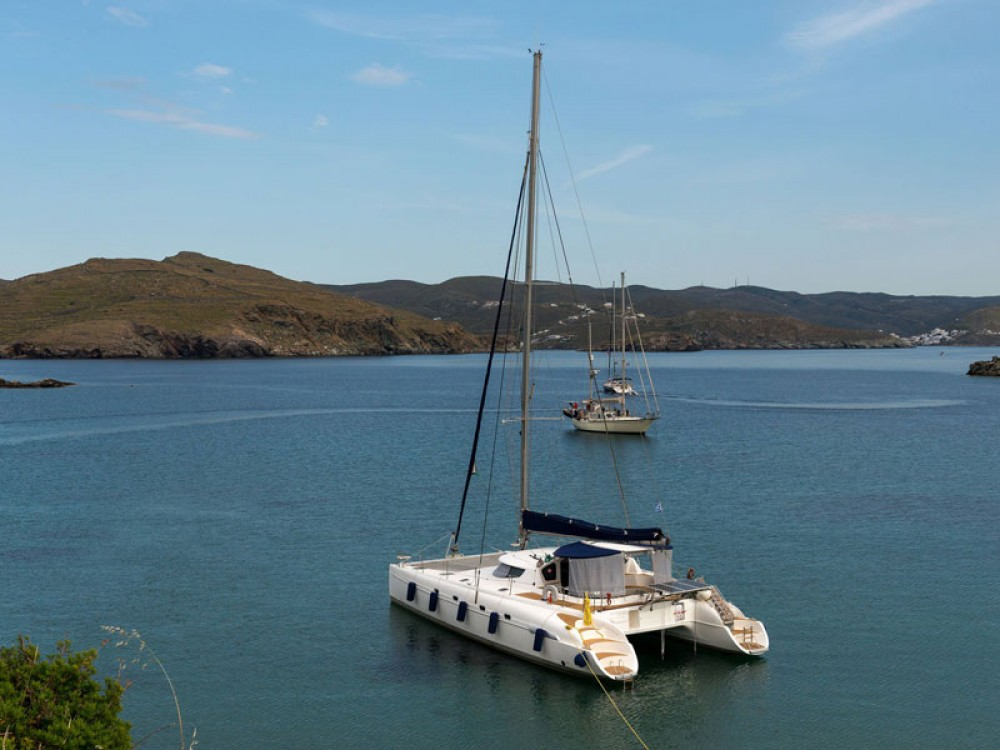 Rental Catamaran in Lefkas - Fountaine Pajot Bahia 46