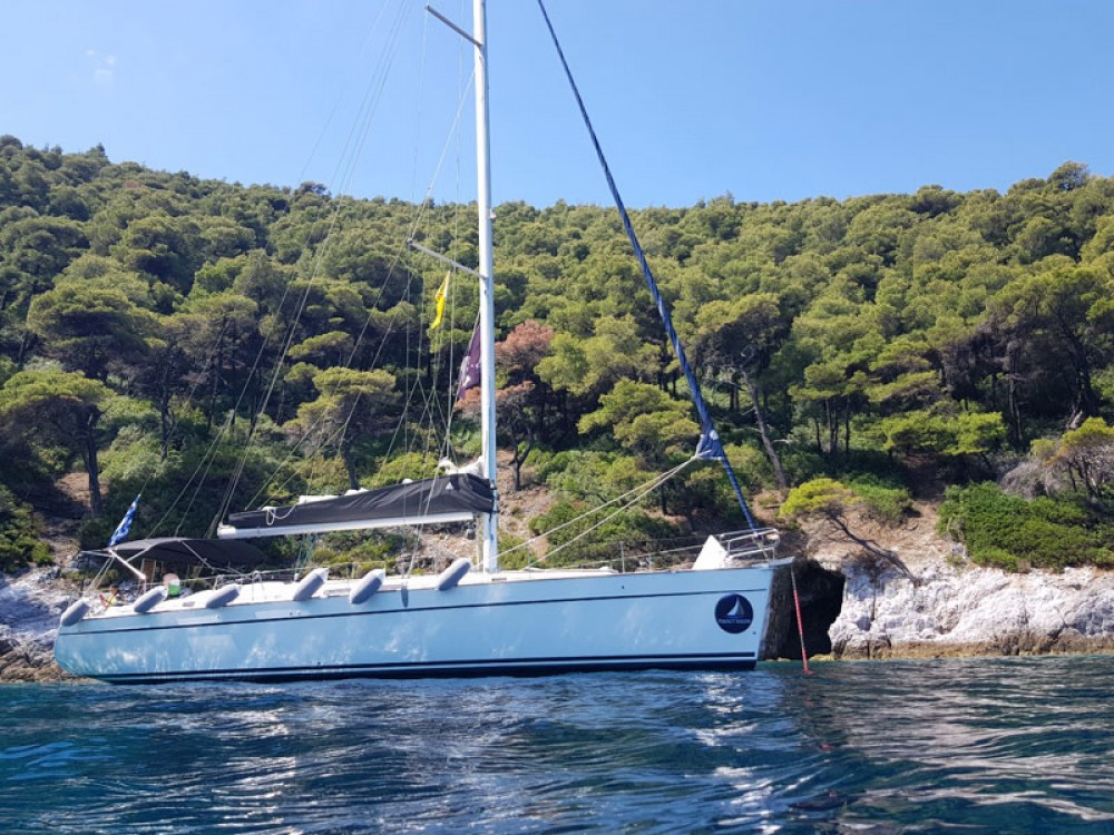 Bénéteau Cyclades 50.5 between personal and professional Skiathos